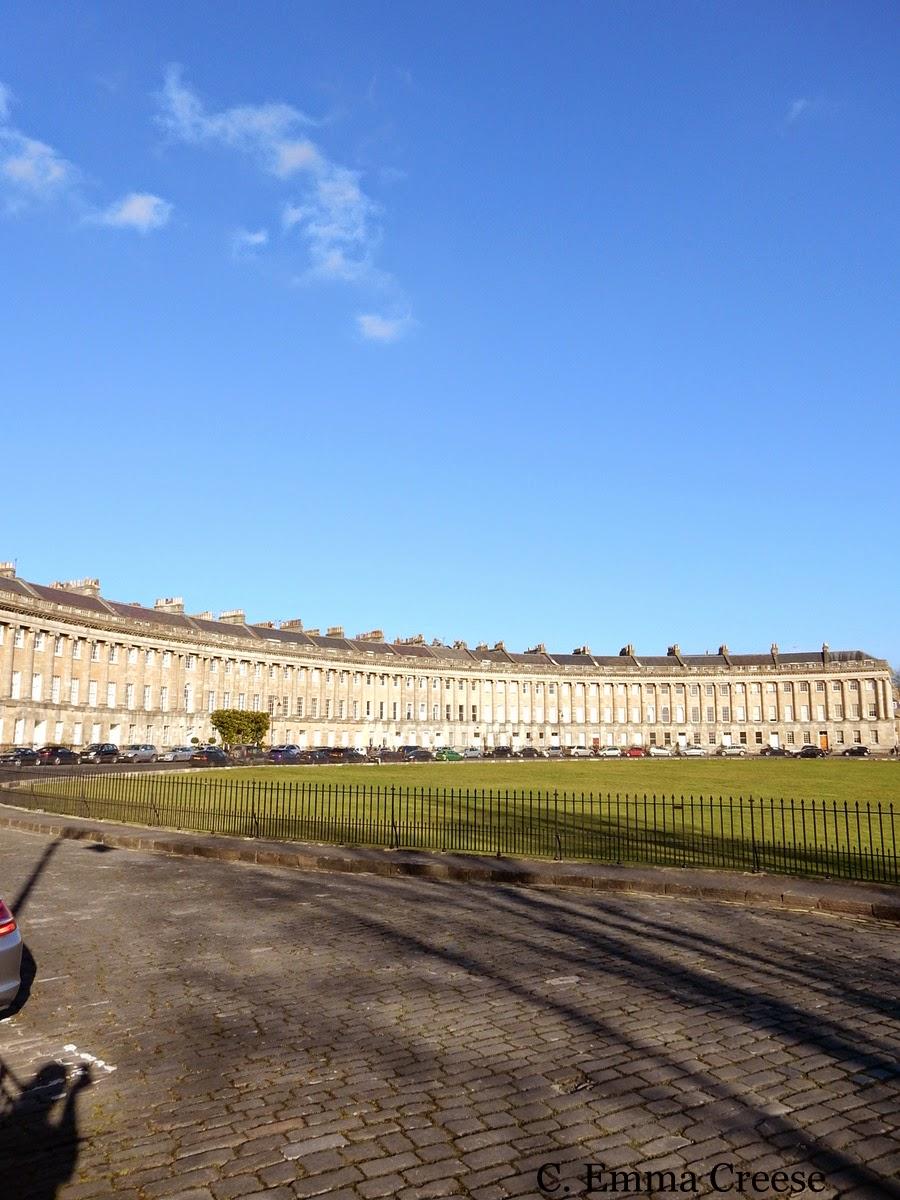 Royal Crescent and The Circle Bath