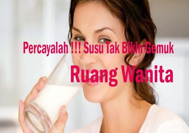 Fakta Mengejutkan !!!, Ternyata Susu Tidak Bikin Gemuk