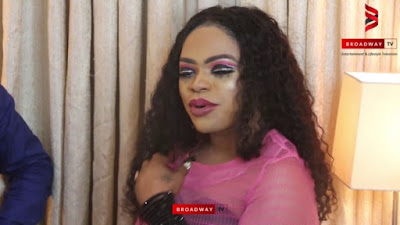 Tiji Manari, slams Bobrisky, hit play to watch video