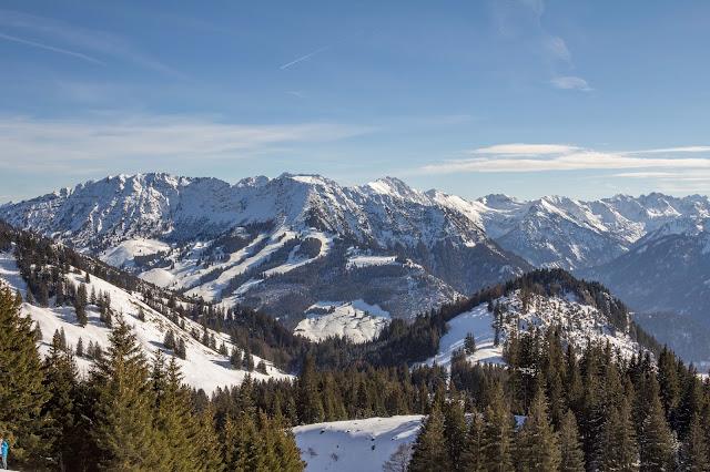 Schneeschuhtour tiefenbacher eck bad hindelang allgäu 11