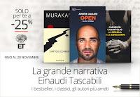 Libri Einaudi Tascabil : 25% di sconto fino al 20 novembre 2016