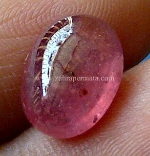Batu Permata Pink Ruby - ZP 640