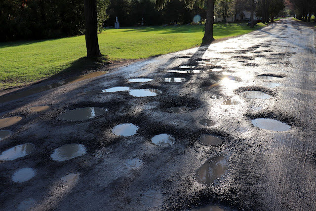 Glorious potholes