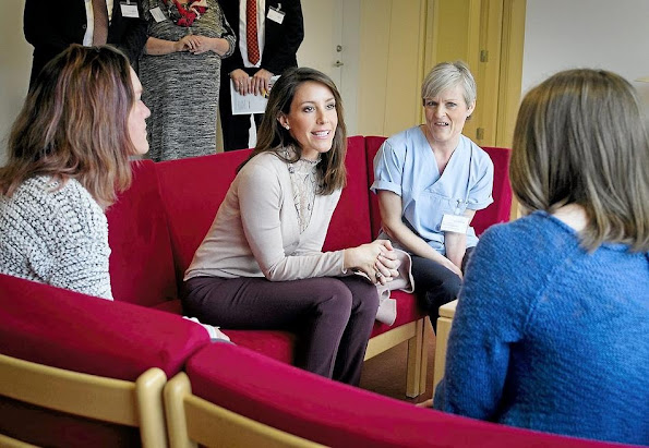 Danish Princess Marie is a patron of the Danish Epilepsy Association and Kattegatcentret