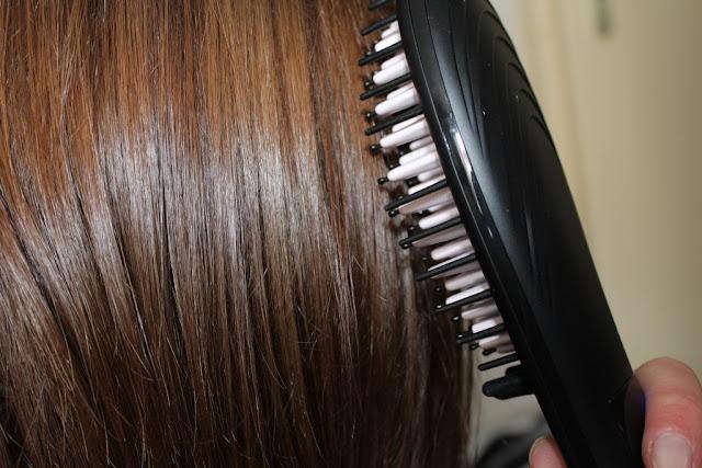 Test cheveux : la brosse lissante chauffante MIRACLE de Madame Paris (et autres découvertes) + CODE PROMO