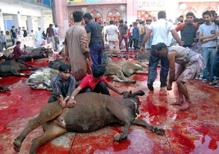 slaughtering of animals during Eid al-Adha