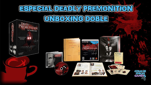 Unboxing Deadly Premonition The Board Game