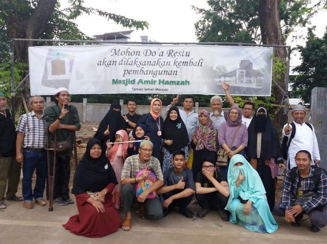 Empat Tahun Dibongkar Ahok, Inilah Sajak Para Pembela Masjid Amir Hamzah