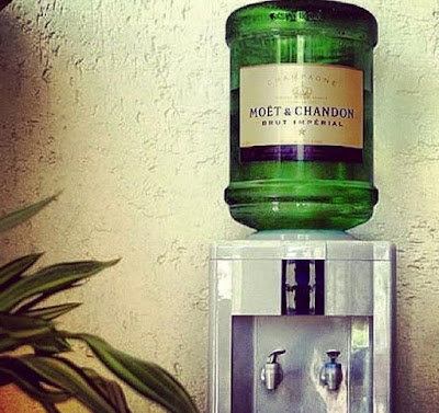 Champagne Water Cooler