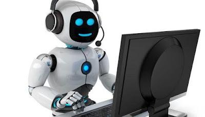 le robot qui se met à la place du travailleur, concept de la RPA Rbotic Process Automation