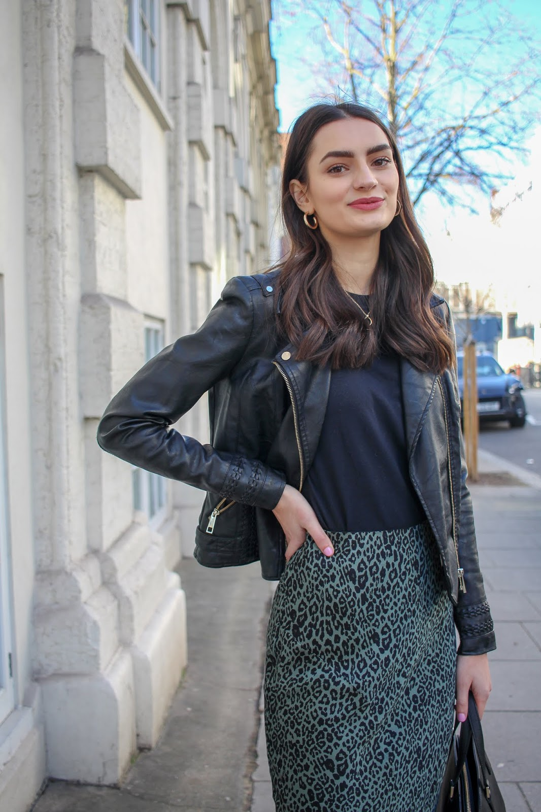 transitioning outfits from winter to spring