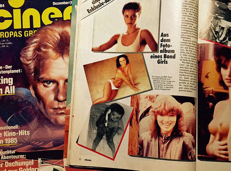 Eine sexy CINEMA Exklusiv Aktion in Ausgabe 11/1984