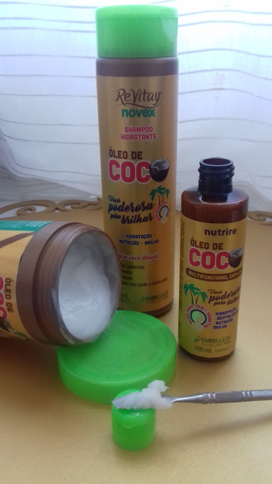 Oleo de coco embelleze - belanaselfie