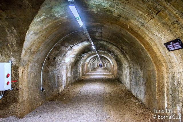 TunelRi (osnovna škola Dolac - katedrala Sv.Vida) Foto: Borna Ćuk