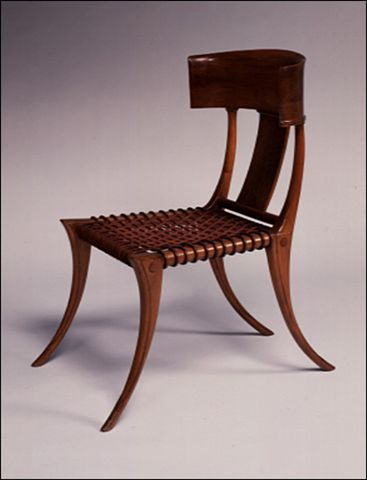 """Tweedland"" The Gentlemen's club: The Klismos Chair"