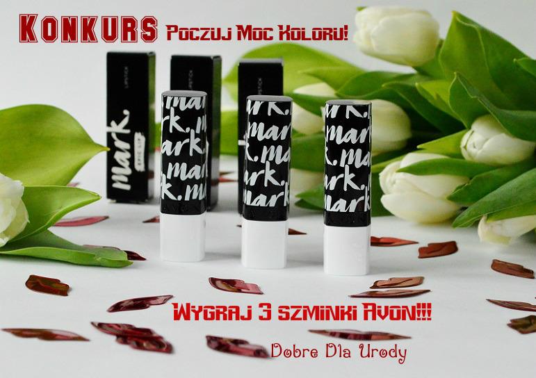 Konkurs-Rozdanie Poczuj Moc Koloru - wygraj szminki Mark Avon