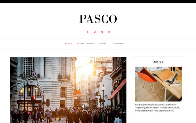Pasco Blogger Template