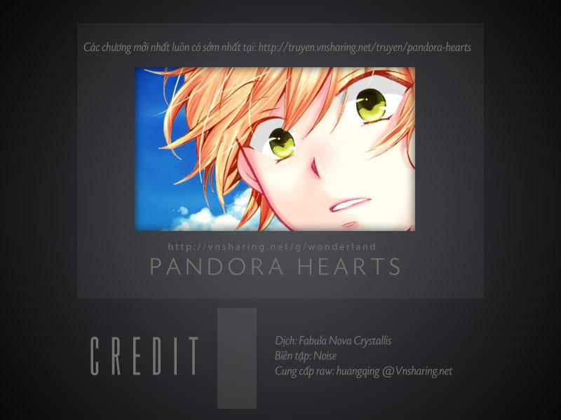 Pandora Hearts chương 071 - retrace: lxxi black rabbit trang 29