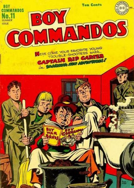 Jack Kirby Boy Commandos