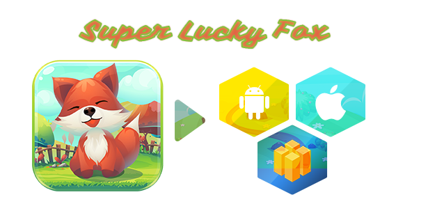 Super Lucky Fox adventure Game - 1