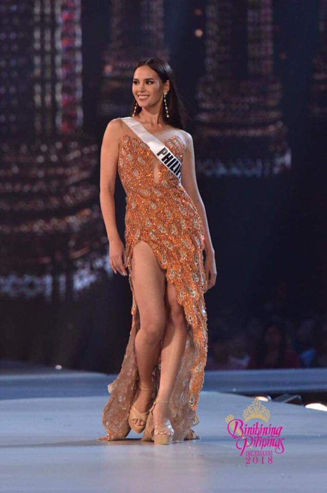 Catriona Gray stuns at the Miss Universe 2018 preliminary competition