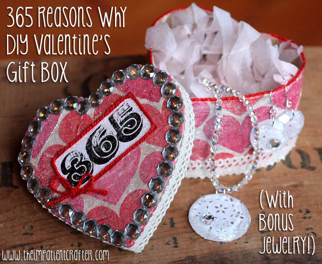 The Impatient Crafter DIY Valentines Jewelry