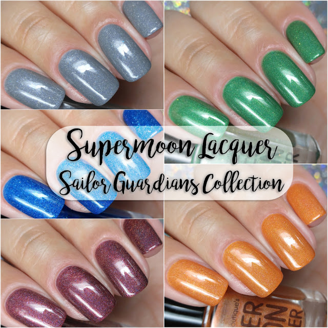 Supermoon Lacquer - Sailor Guardians Collection - Inner Set