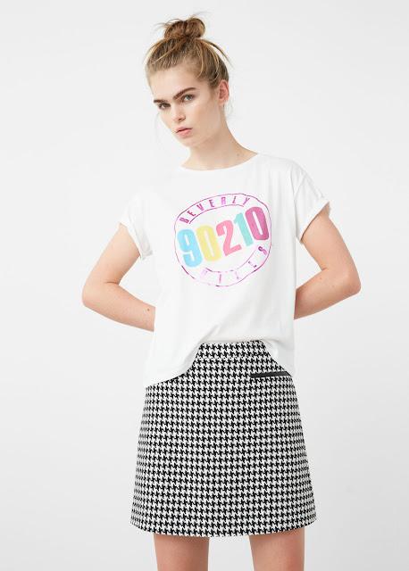 Camiseta 90210 de Mango
