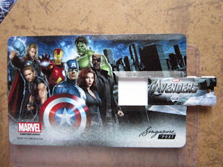 Marvel comics movie STGCC 2012 Avengers Assemble stamp limited edition collection lot set Nick Fury SHIELD Captain America Thor Iron Man Tony Stark Hulk Bruce Banner Black Widow Hawkeye Clint Barton Natasha movie