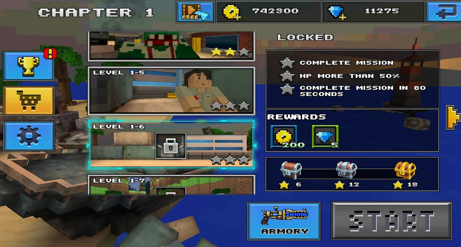 Pixel Shooting 3D Mod Apk Version 1 0 2 Free Shopping - Technical penny