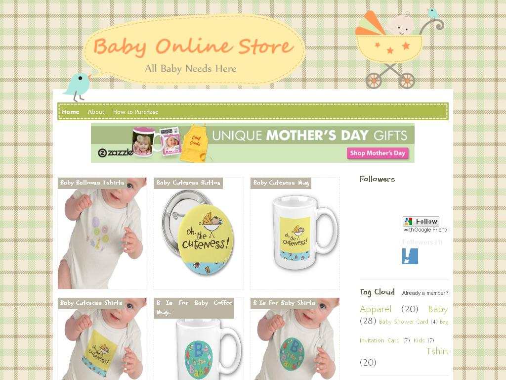 91b1e01d4 Baby Online Store Blog Theme