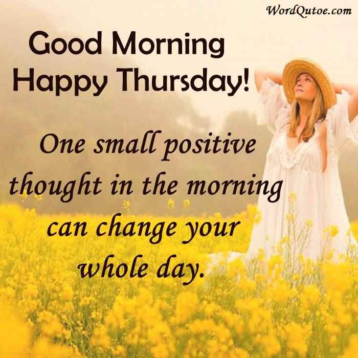 Good Morning Happy Thursday : Happy thursday and good morning wishes images with