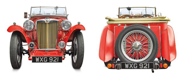 MG_TC 1935, Classic Cars
