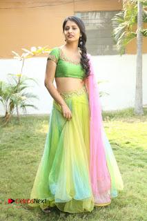 Actress Nikitha Bisht Stills in Lehenga Choli at Pochampally Ikat Art Mela Launch  0415.JPG