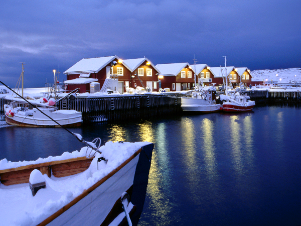 Bodo, Norway - Boats
