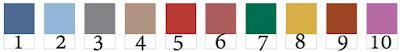 lista de colores pantone otoño