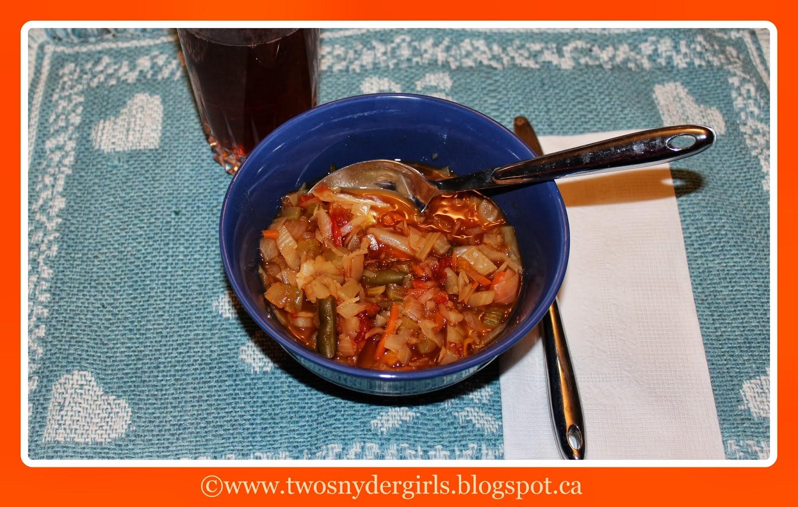 Gluten & Dairy free Cabbage Soup