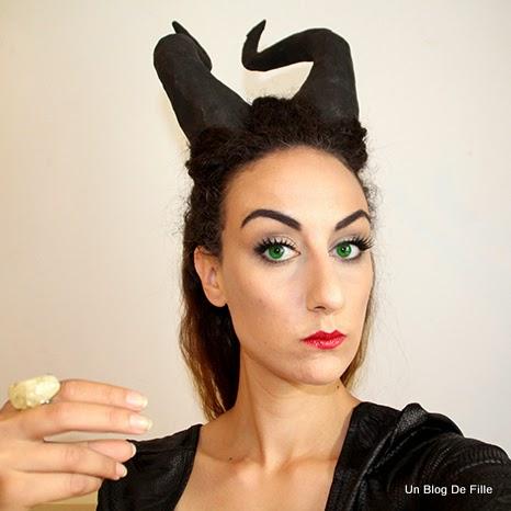 un blog de fille maquillage de malefique maleficent makeup. Black Bedroom Furniture Sets. Home Design Ideas