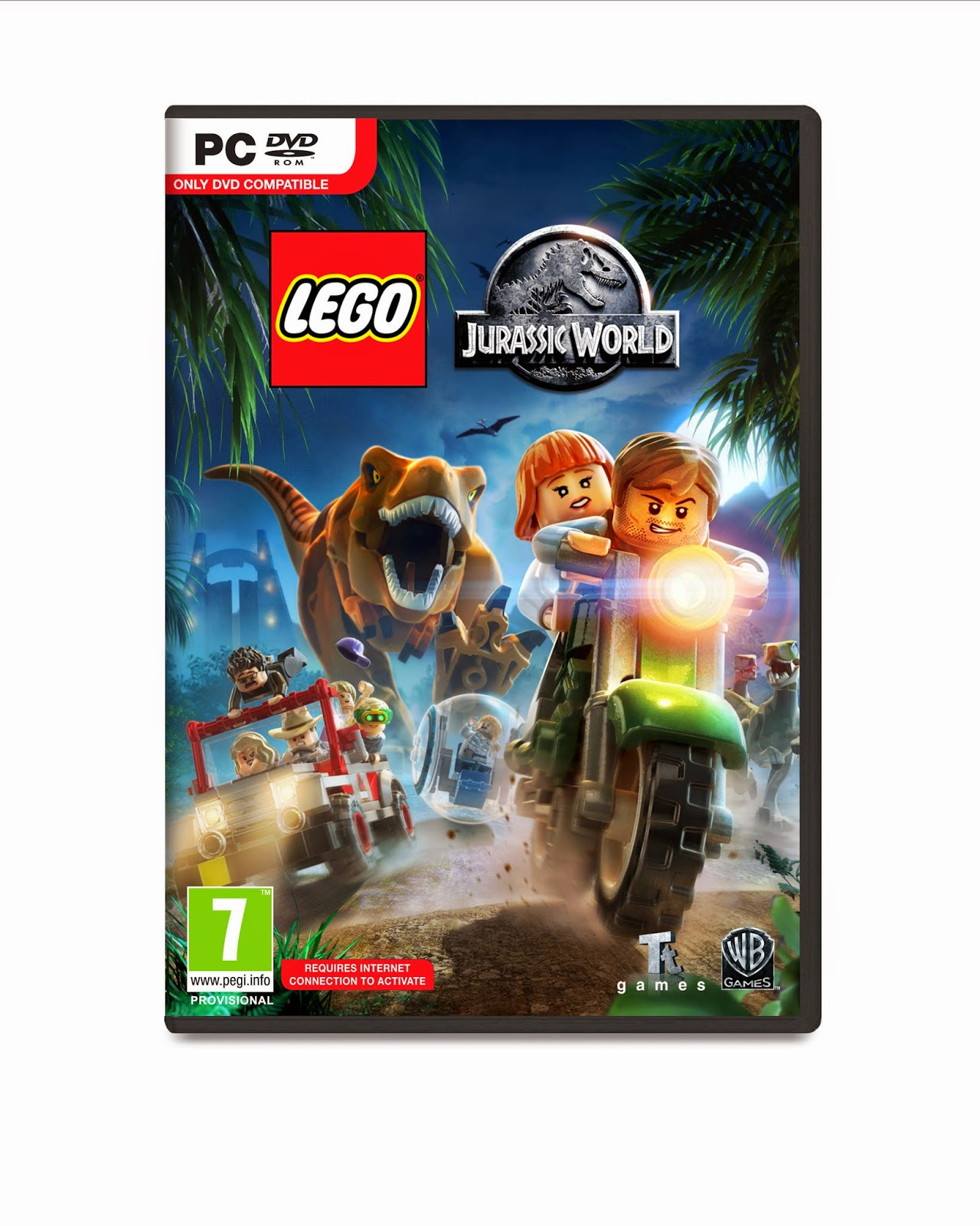 jurassic world game pc