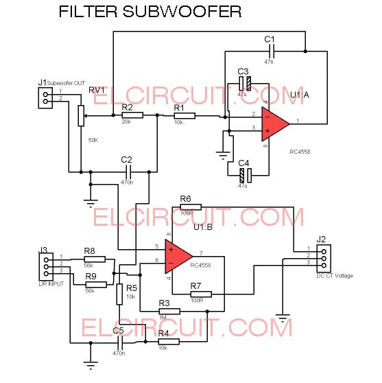 New Filter Subwoofer Circuit