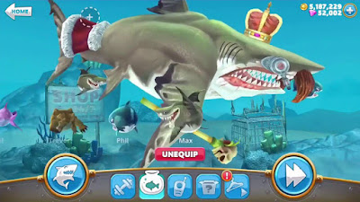 Hack Hungry Shark Full Mới Nhất 2018