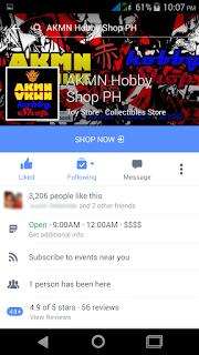 AKMN Hobby Shop Facebook