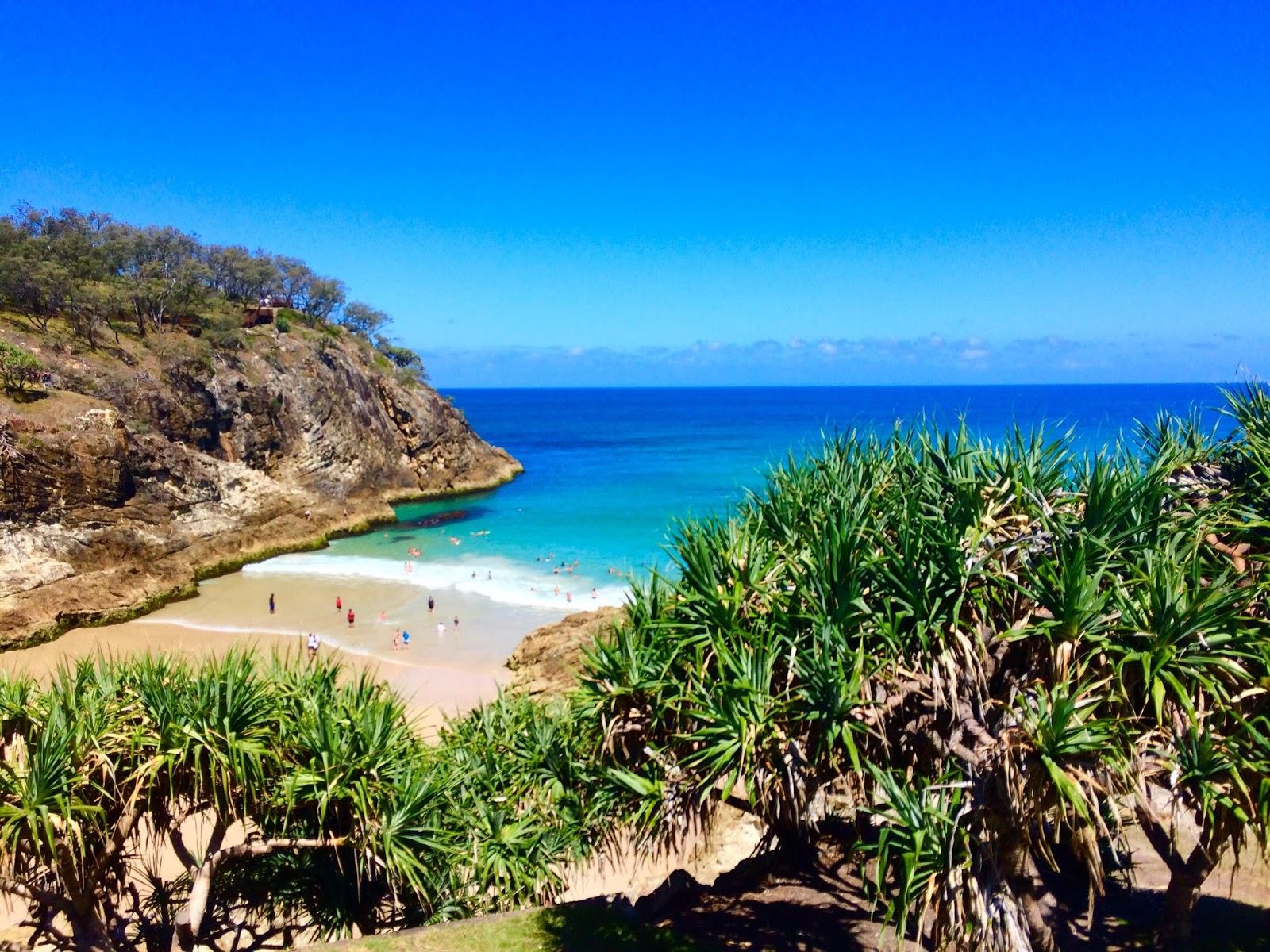 Main Beach North Stradbroke Island Queensland Australia