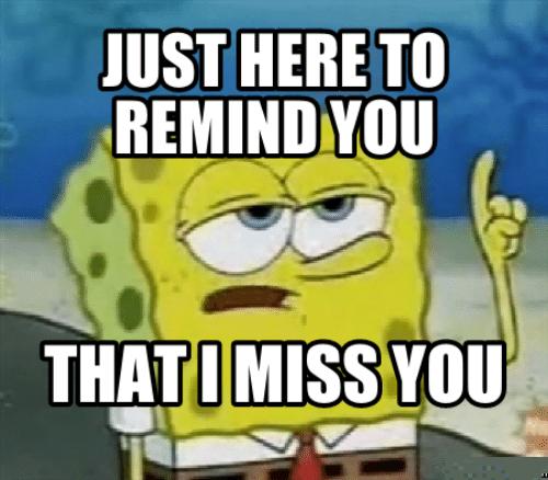 i miss you meme 2