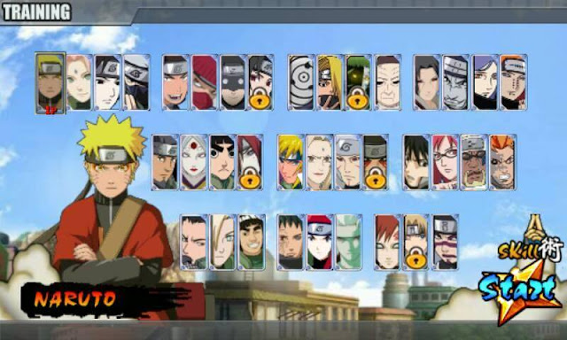 Naruto Senki MOD NSUNS v1.0 MOD Full Characters Apk Android Terbaru