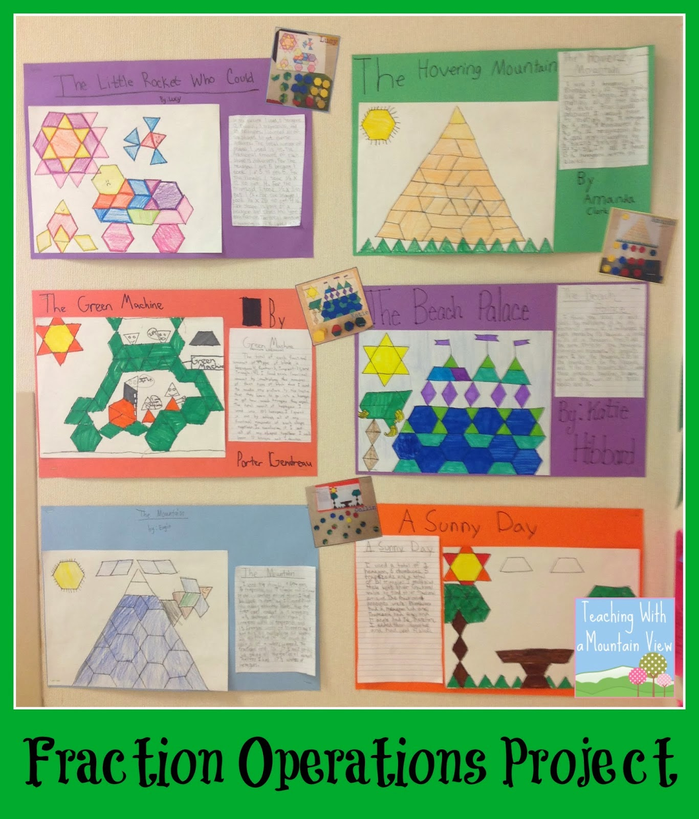Teaching With A Mountain View Math Activities