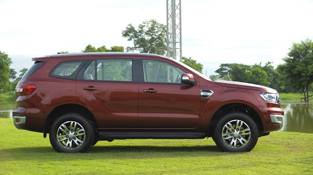 Phiên bản xe ô tô Ford Everest 2016 điểm nhấn tại VMS 2015