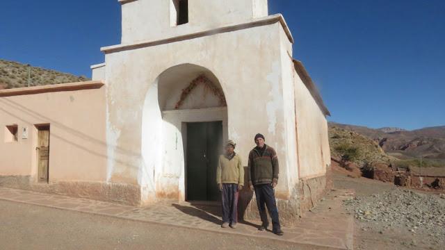 Kirche von Cienaga Argentinien