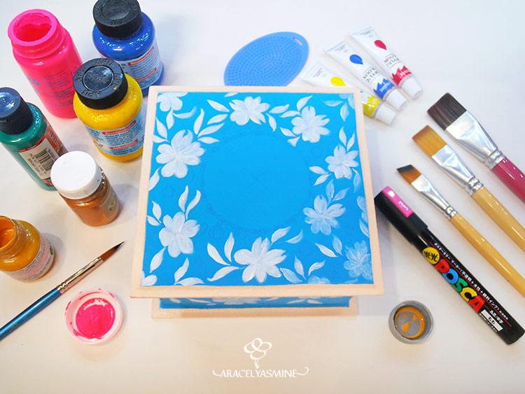 el arte de pintar con acrilicos