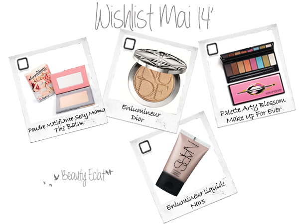 wishlist beaute the balm dior make up for ever nars